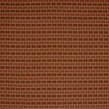 Cherry Plaid Check Decorator Fabric by Greenhouse