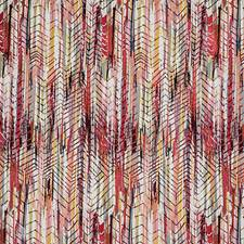 Hot Cherry Gold Decorator Fabric by Scalamandre