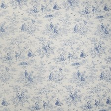 Azure Toile Decorator Fabric by Greenhouse
