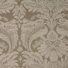 Brown Floral Decorator Fabric by JF