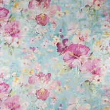 Blue/Multi Traditional Decorator Fabric by JF