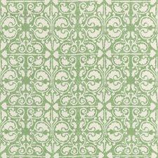 Sage/White/Green Geometric Decorator Fabric by Kravet