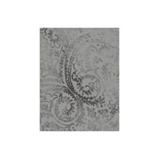 Smoke Paisley Decorator Fabric by Andrew Martin