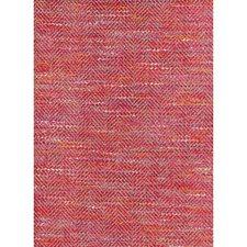 Red Berry Herringbone Decorator Fabric by Andrew Martin