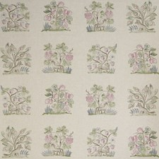 Cerise Novelty Decorator Fabric by Andrew Martin