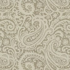 Silver Paisley Decorator Fabric by Kravet