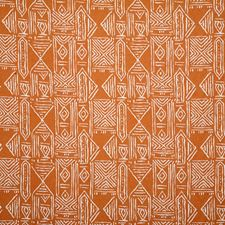 Rust Ethnic Decorator Fabric by Pindler