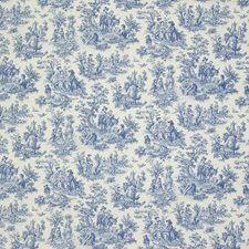 Cornflower Toile Decorator Fabric by Greenhouse