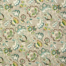 Heather Floral Decorator Fabric by Greenhouse
