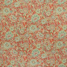 Brick Floral Decorator Fabric by Greenhouse