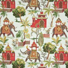 Verde Asian Decorator Fabric by Greenhouse