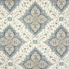 Classic Navy Southwest Lodge Decorator Fabric by Greenhouse