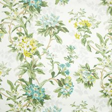 Cerulean Moire Decorator Fabric by Greenhouse
