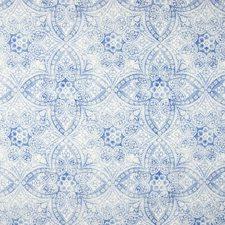 Azure Medallion Decorator Fabric by Greenhouse