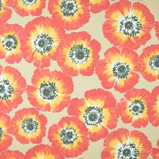 Starburst Floral Decorator Fabric by Greenhouse