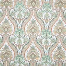 Orange Grove Scroll Decorator Fabric by Greenhouse