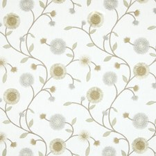 Gilt Floral Decorator Fabric by Greenhouse