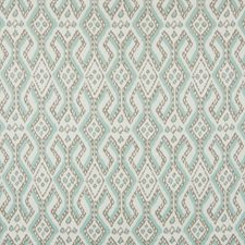 Turquoise Southwest Lodge Decorator Fabric by Greenhouse