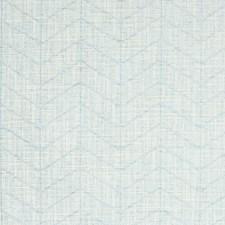 Spa Herringbone Decorator Fabric by Greenhouse