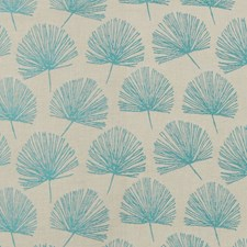 Peacock Floral Decorator Fabric by Greenhouse