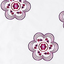 Purple/Fuchsia Decorator Fabric by Scalamandre