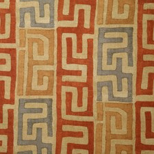 Clay Ethnic Decorator Fabric by Pindler