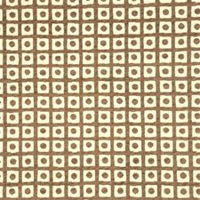 Taupe Check Decorator Fabric by G P & J Baker