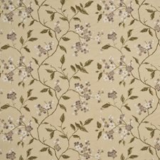 Mauve/Sand Embroidery Decorator Fabric by G P & J Baker
