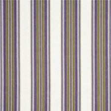 Mauve/Lime Stripes Decorator Fabric by G P & J Baker