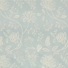 Ice Embroidery Decorator Fabric by G P & J Baker