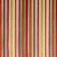 Ruby/Purple/Rust Stripes Decorator Fabric by G P & J Baker