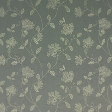 Graphite Embroidery Decorator Fabric by G P & J Baker