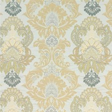 Bronze/Natural Embroidery Decorator Fabric by G P & J Baker
