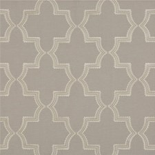 Pewter Embroidery Decorator Fabric by G P & J Baker