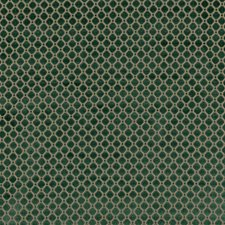 Emerald Geometric Decorator Fabric by G P & J Baker