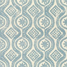 Blue Contemporary Decorator Fabric by Lee Jofa