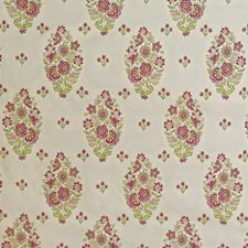 Rose/Green Decorator Fabric by Lee Jofa