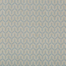 Light Blue Geometric Decorator Fabric by Lee Jofa
