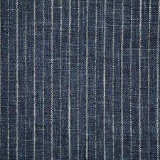 Indigo Stripe Decorator Fabric by Pindler