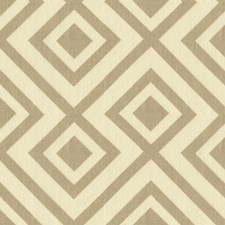 Grey Geometric Decorator Fabric by G P & J Baker