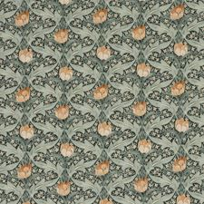 Teal Print Decorator Fabric by G P & J Baker