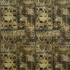 Olive/Ebony Print Decorator Fabric by G P & J Baker