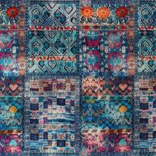 Jewel Print Decorator Fabric by G P & J Baker