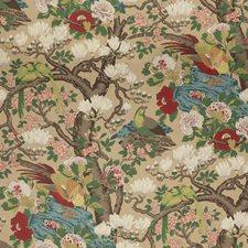Multi Animal Decorator Fabric by G P & J Baker