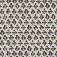Red/Blue Print Decorator Fabric by G P & J Baker