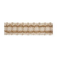 Tapes Oatmeal Trim by Brunschwig & Fils