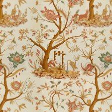 Blond Print Decorator Fabric by Brunschwig & Fils