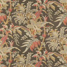 Taupe Print Decorator Fabric by Brunschwig & Fils