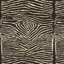 Black Animal Skins Decorator Fabric by Brunschwig & Fils