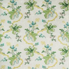 Grey Botanical Decorator Fabric by Brunschwig & Fils